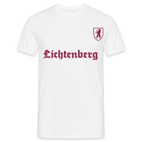 D auf dem Ärmel - Männer T-Shirt
