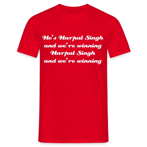Singh and we're winning - T-Shirt - Men's T-Shirt