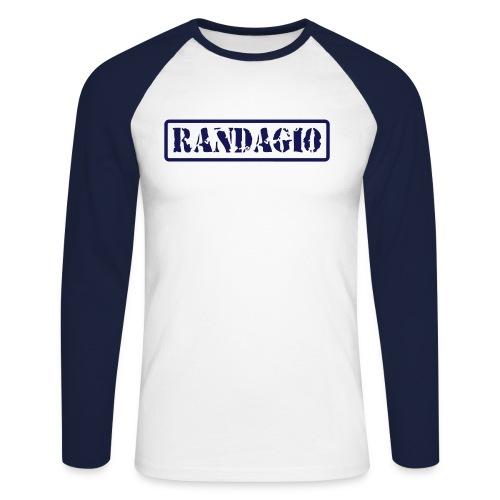 Manica Lunga Randagio - Maglia da baseball a manica lunga da uomo