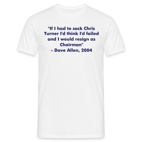 Allen Quote 2 - Men's T-Shirt