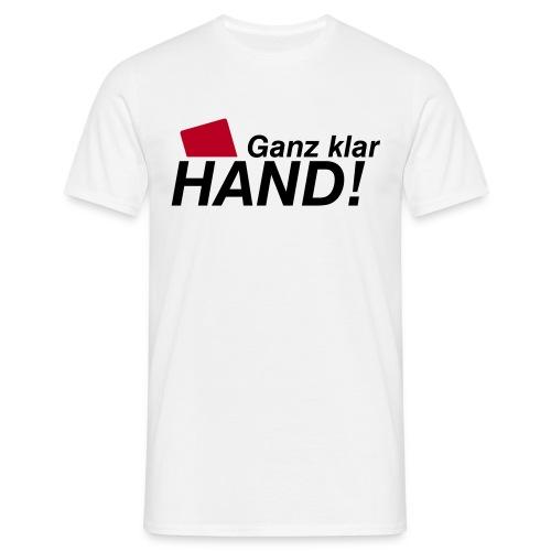 Shirt Fussball-Spruch 4 (EM) - Männer T-Shirt