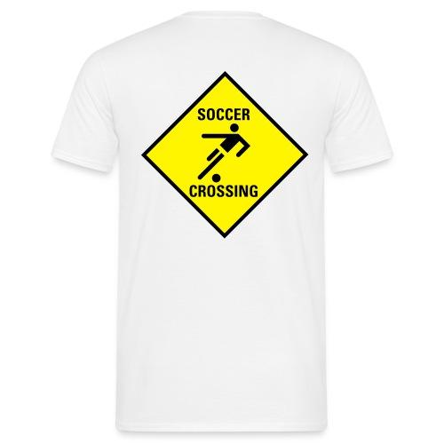 Shirt Soccer Cross (EM) - Männer T-Shirt