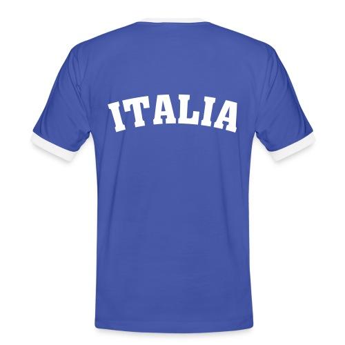 Shirt Italia (EM) - Männer Kontrast-T-Shirt