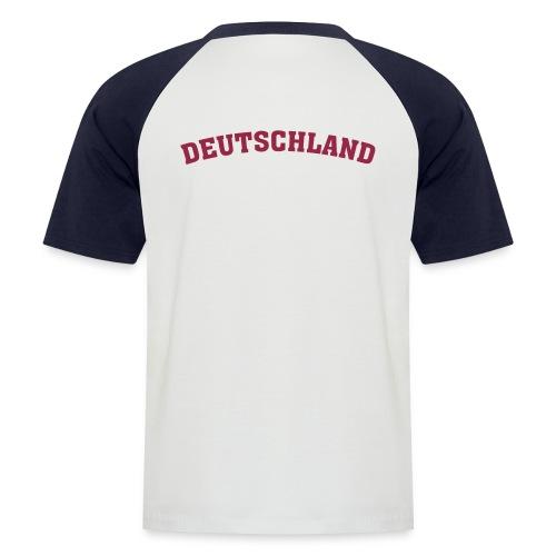 Shirt Deutschland (D) - Männer Baseball-T-Shirt