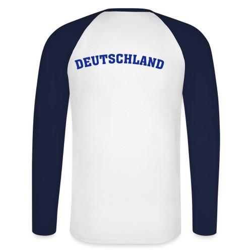 Sweat Deutschland (D) - Männer Baseballshirt langarm