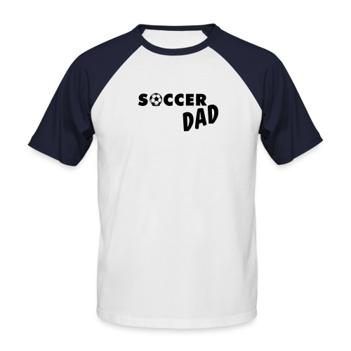Soccer Dad - Mannen baseballshirt korte mouw