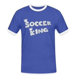 Voetbal King - Mannen contrastshirt