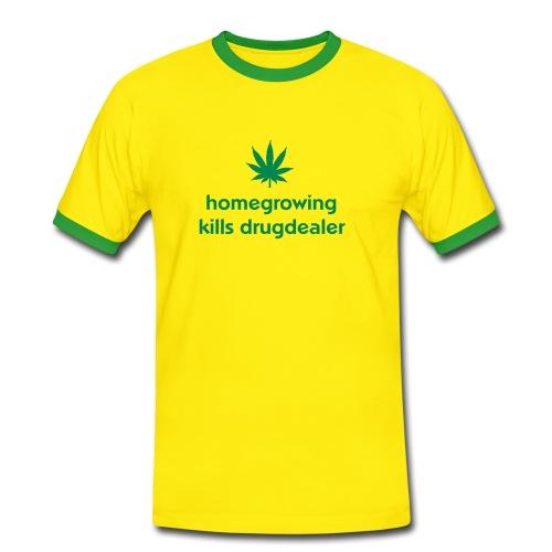 drugdealer - Mannen contrastshirt