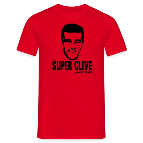 Super Clive - Men's T-Shirt