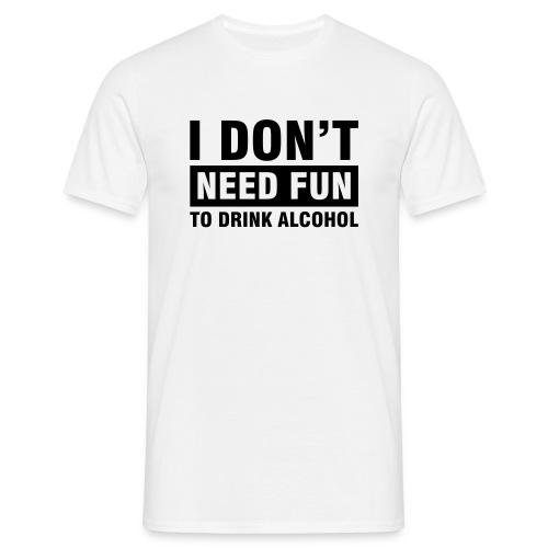Vive l'alcool - T-shirt Homme