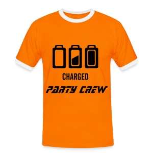 Party Crew T-Shirt - Mannen contrastshirt