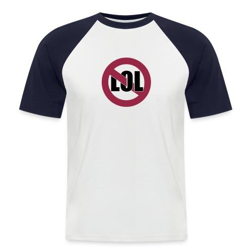 Shirt mit dem aufdruck LOL - Männer Baseball-T-Shirt
