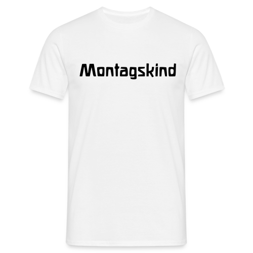 Montagskind - Men's T-Shirt