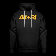 Hoodies & Sweatshirts ~ Men's Premium Hoodie ~ Alt+F4 Hooded Shirt