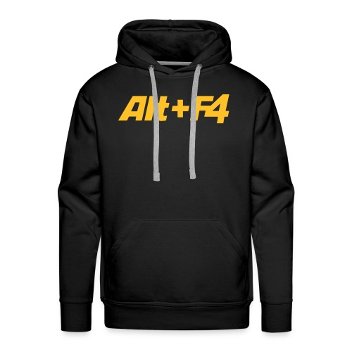 Alt+F4 Hooded Shirt - Men's Premium Hoodie