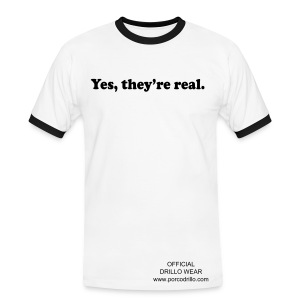real tee - Men's Ringer Shirt