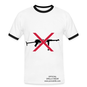 No guns tee - Men's Ringer Shirt