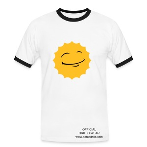 sunsmile tee - Men's Ringer Shirt