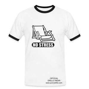 no stress tee - Men's Ringer Shirt