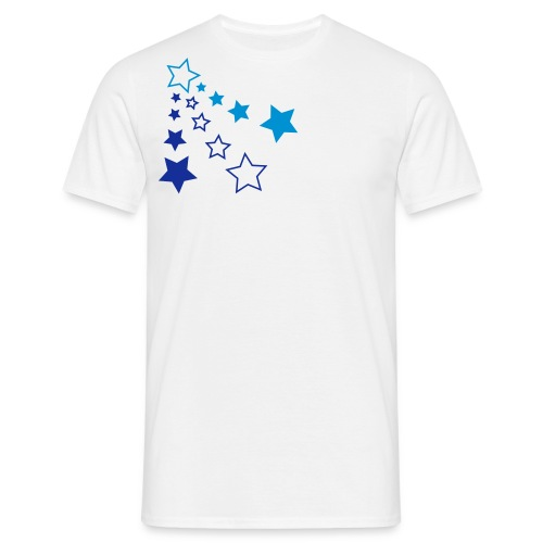Star blue - T-shirt Homme