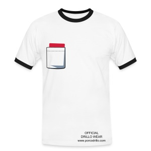 red card tee - Men's Ringer Shirt