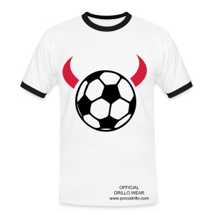 footy devil tee - Men's Ringer Shirt