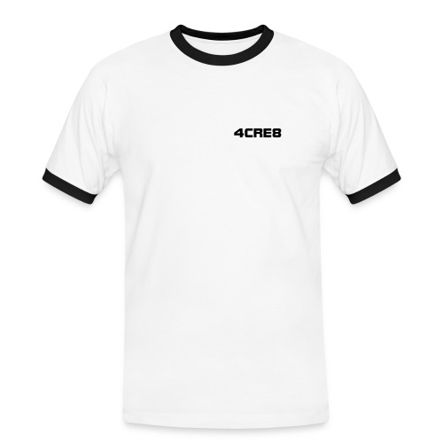 4CRE8 Contrast White - Men's Ringer Shirt