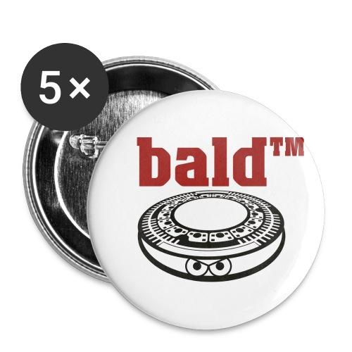 Bald^tm Buttons - Buttons klein 25 mm (5er Pack)