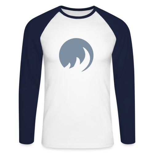 Flame - Men's Long Sleeve Baseball T-Shirt