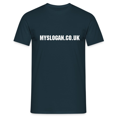 myslogan.co.uk T-shirt - Men's T-Shirt