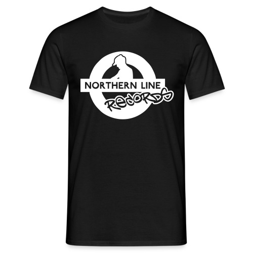 NLR COMFORT FIT T SHIRT WITH WHITE LOGO TO FRONT - Men's T-Shirt