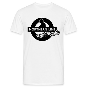 NLR COMFORT FIT T SHIRT WITH BLACK LOGO TO FRONT - Men's T-Shirt