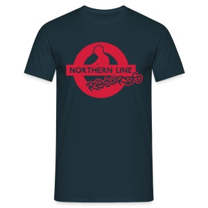 NLR COMFORT FIT T SHIRT WITH RED LOGO TO FRONT - Men's T-Shirt