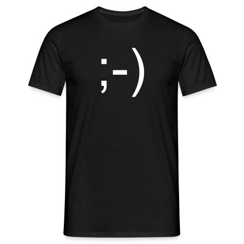 Smilie - Männer T-Shirt