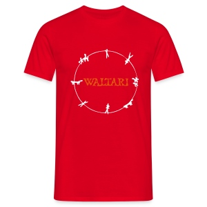 Waltari So Fine Red - Men's T-Shirt