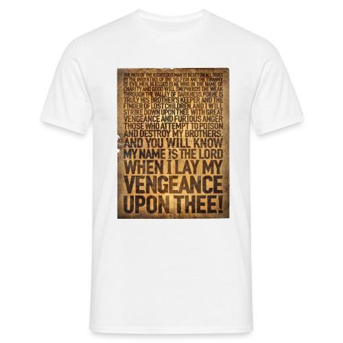 Ezequiel 25:17 (Inglés) - Camiseta hombre