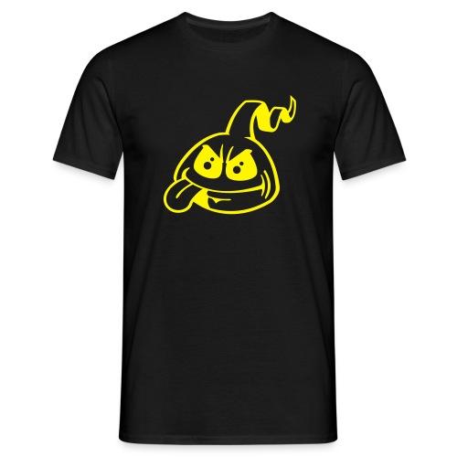 Männer T-Shirt - t-shirt,city am fenster