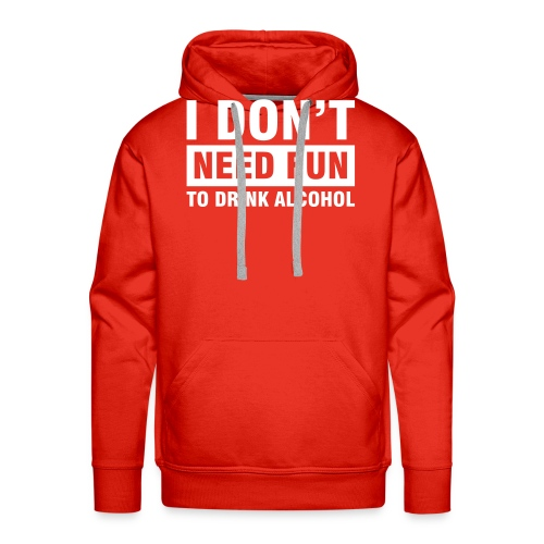 Mutz Nutz Don't Need Fun Limted Edition  - Men's Premium Hoodie