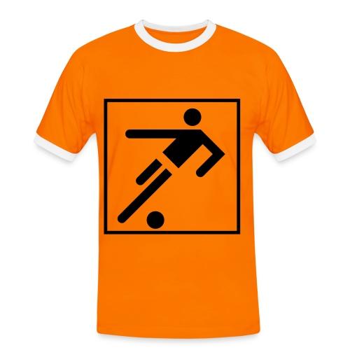 Sport [2] - Kontrast-T-shirt herr