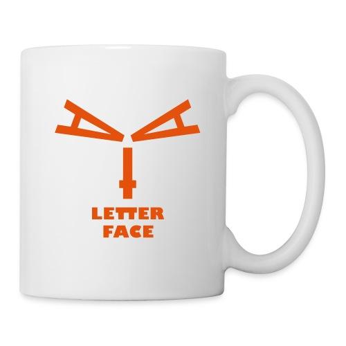 Letterface 5 Pott - Tasse