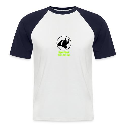 ScooterShirt - Mannen baseballshirt korte mouw