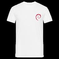 T-Shirts ~ Men's T-Shirt ~ Classic Debian T-Shirt