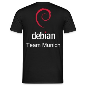 Customizable Debian Team T-Shirt - Men's T-Shirt