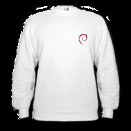Hoodies & Sweatshirts ~ Men's Sweatshirt ~ Debian Sweat Shirt