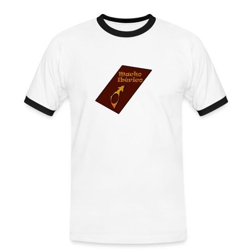 MACHO IBERICO - Camiseta contraste hombre