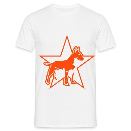 T-Comfort t-shirt met hond - Mannen T-shirt