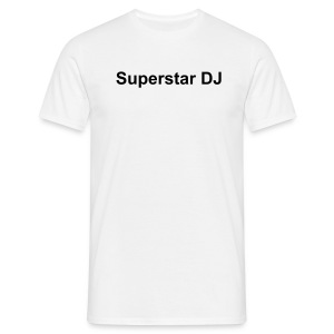 Superstar DJ T-Shirt - Men's T-Shirt