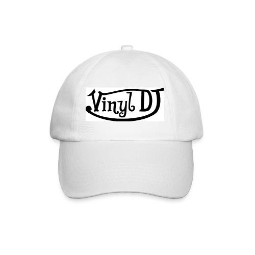 Vinyl DJ Cap - White - Baseball Cap