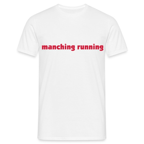 Manching running - Männer T-Shirt
