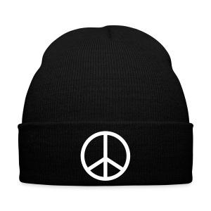 peace black hat - Winter Hat